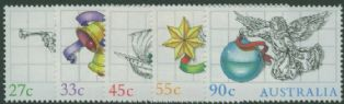AUS SG988-92 Christmas 1985 set of 5